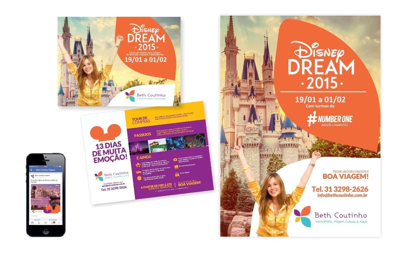 Campanha Disney - Beth Coutinho