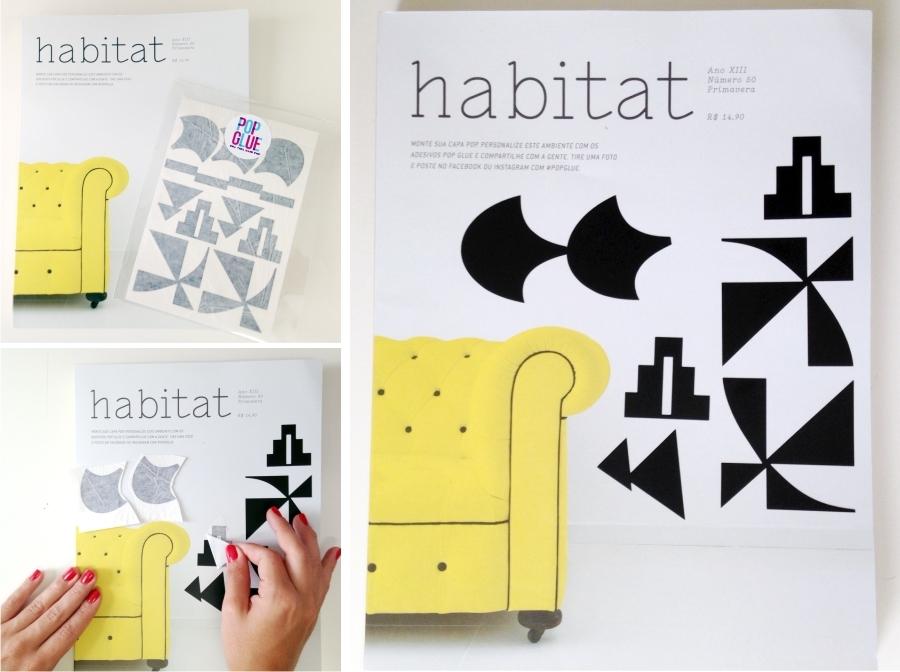 Capa Interativa Pop Glue/Habitat